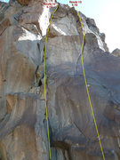 Rock Climbing Photo: Routes 12 and 13