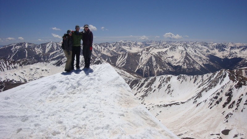 Summit of La Plata, Colorado May 2010