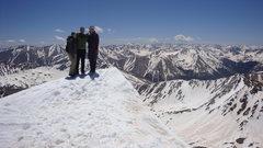 Summit of La Plata, Colorado May 2010