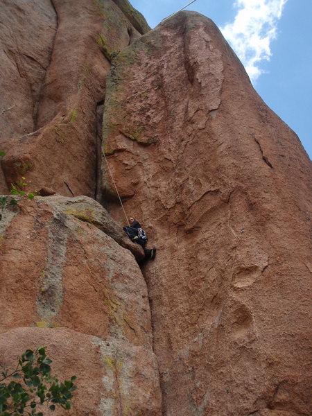 Climbing in Vedauwoo Wyoming, 4th of July 2010