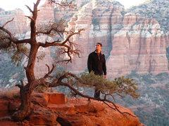 Rock Climbing Photo: Me in Sedona Arizona.