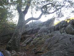 Rock Climbing Photo: The Overlook at Raven Rock