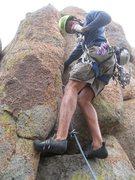 Rock Climbing Photo: Fin City.