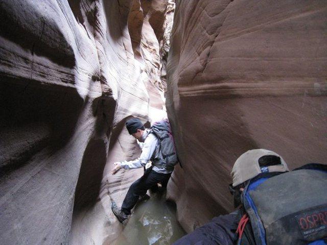 UT slot canyon.