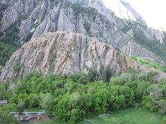 Rock Climbing Photo: The Island