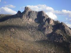 Rock Climbing Photo: A little bit of rock.