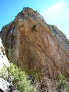 Rock Climbing Photo: North face of Poseidon.