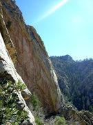 Rock Climbing Photo: Poseidon, NW corner. Something Unsaid and Om visib...