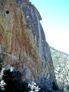 Rock Climbing Photo: Aegir NW corner. Direct Madness visible.
