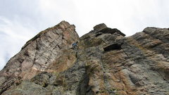 Rock Climbing Photo: Thom on pitch 2.