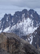 Rock Climbing Photo: the wine spires as viewed from SEWS