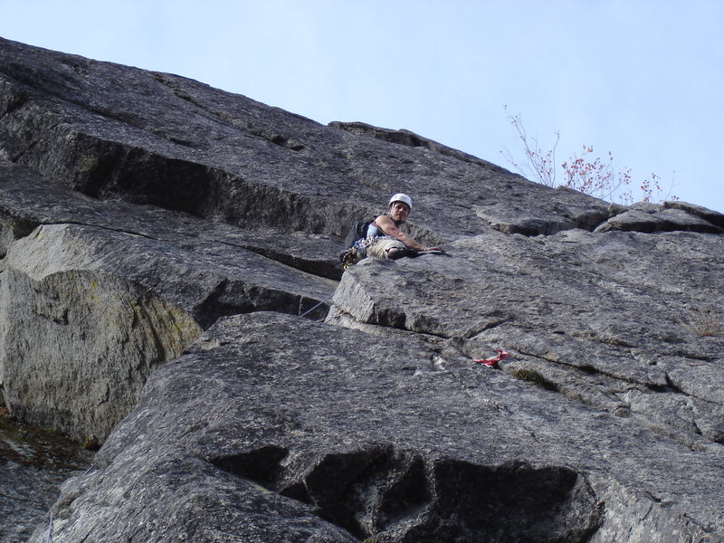 on the traverse pitch