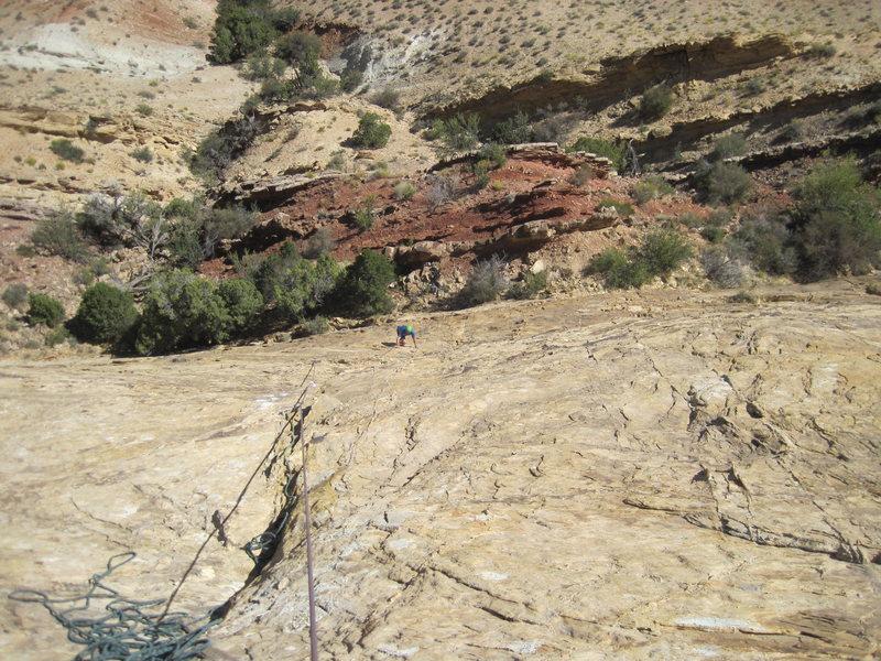 Rock Climbing Photo: Pat Starting