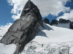 Rock Climbing Photo: piegon from the new snowpatch rap's..
