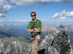 Rock Climbing Photo: summit of Bugaboo Spire after NE Ridge