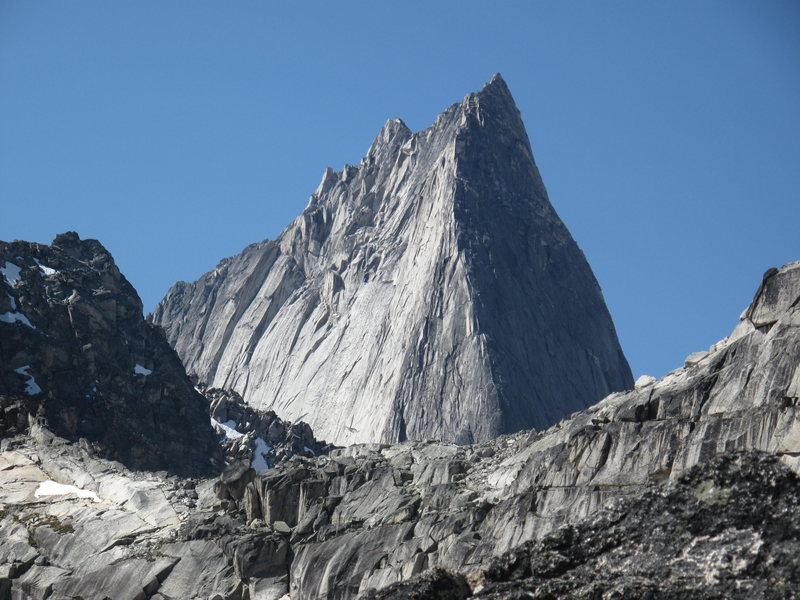 Bugaboo looks super gnar from Brenta-Crescent col!!
