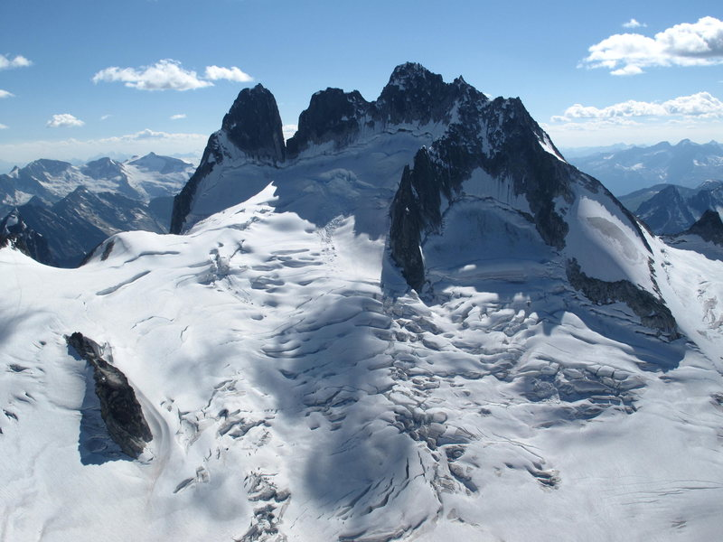 Vowell glacier & Howser Group....