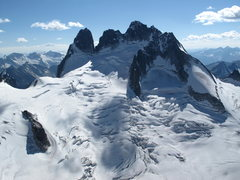 Rock Climbing Photo: Vowell glacier & Howser Group....