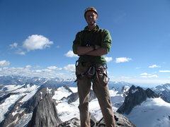 Rock Climbing Photo: summit of Bugaboo
