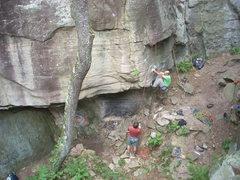 Rock Climbing Photo: Mike L on Generation Gap.