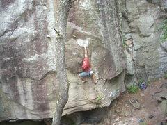 Rock Climbing Photo: Flunky on Generation Gap