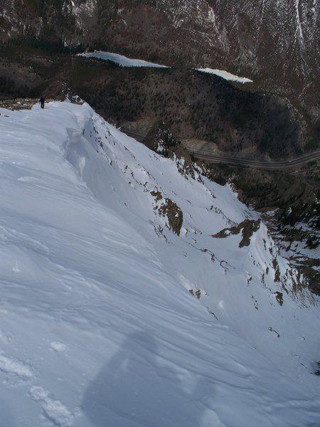 The west ridge.