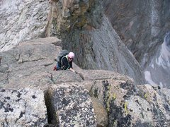 Rock Climbing Photo: Splitter.