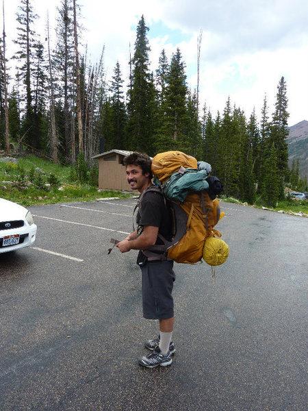 Rock Climbing Photo: climbing + backpacking = huge pack