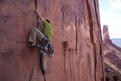 Rock Climbing Photo: crack wars