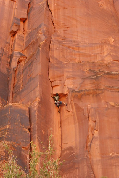 Rock Climbing Photo: another fa in the dez. money!