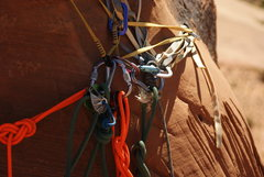 Rock Climbing Photo: what a mess! i didnt do it