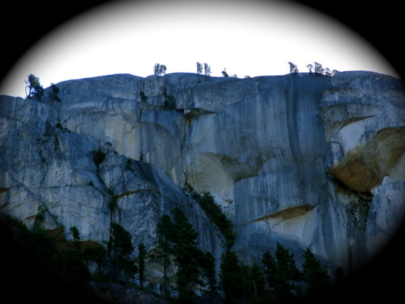 Rock Climbing Photo: Fingerbang is the overhanging crack through blocky...