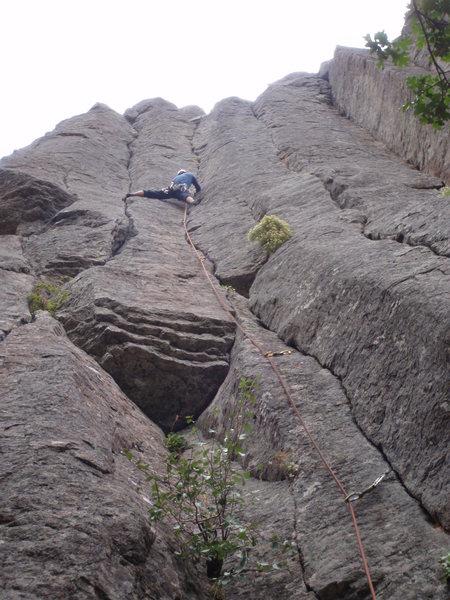 Rock Climbing Photo: Sugar Kicks, 5.10c