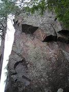 Rock Climbing Photo: Corner is Killer Bunnies, Group Grope is short sec...