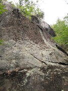 Rock Climbing Photo: The start and keep following this crack until ther...