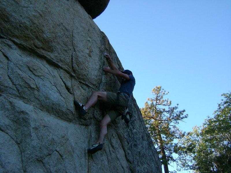 "Rock Climbing Photo: TRing ""Death by Ugaah Bugah"", 5.11a."