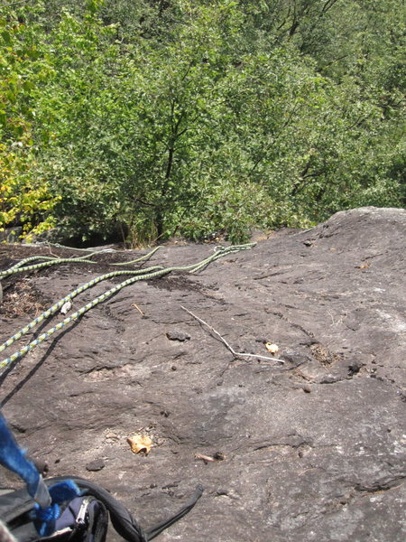 Rock Climbing Photo: Doing the ropes.