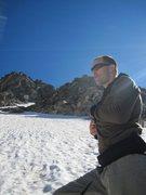 Rock Climbing Photo: Mike Walley on Skywalker in June, 2010. Photo take...