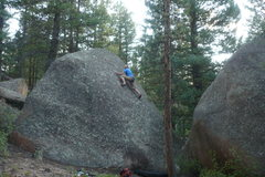Rock Climbing Photo: Casey French on Sept. 5, 2010.
