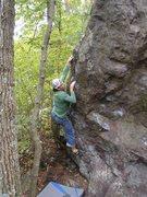 Rock Climbing Photo: Railroad Spike.