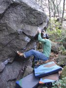 Rock Climbing Photo: Hold on.