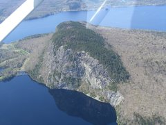 Rock Climbing Photo: Kineo from the air today