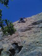 Rock Climbing Photo: One move wonder!