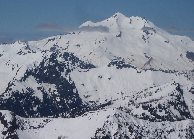 Rock Climbing Photo: Glacier peak from Mt.Moud