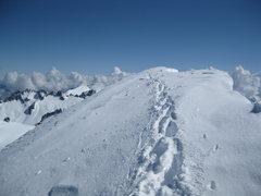 Rock Climbing Photo: Eldorado Peak Ridge walk