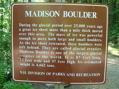 Rock Climbing Photo: Madison Boulder