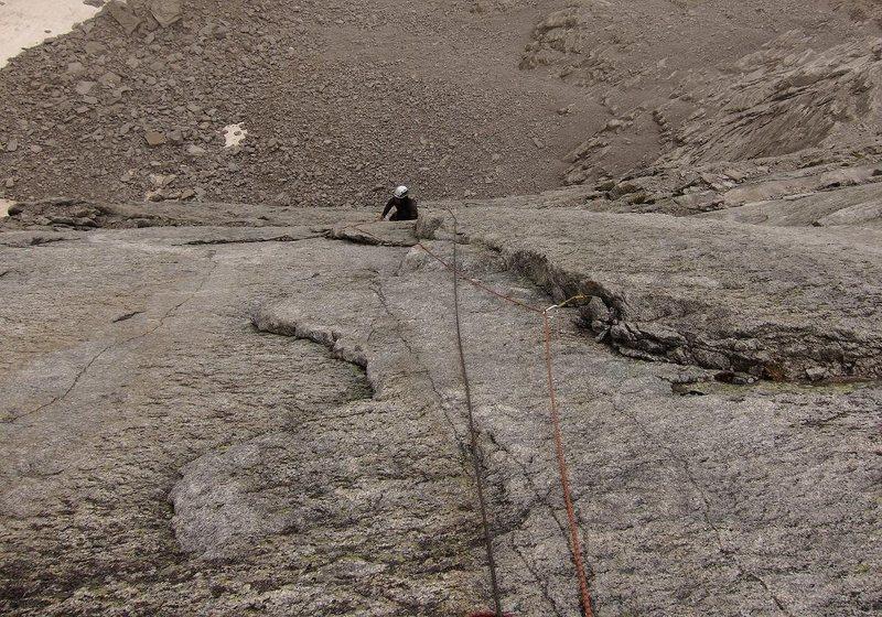 Rock Climbing Photo: Slabs of P5.
