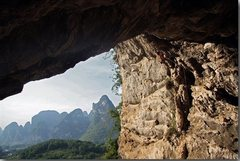Rock Climbing Photo: chicken cave