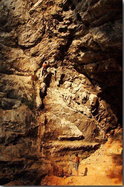 Rock Climbing Photo: chicken cave