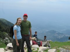 Rock Climbing Photo: Area know as Triund that is above Dharamsala, Indi...